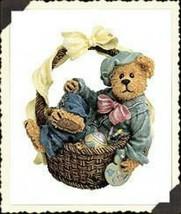 """Boyds Bearstone """"Rembrandt.. Eggsellent Work"""" #227790 -1E- 2002- Retired - $24.99"""