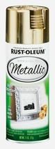 Rust-Oleum Specialty METALLIC Spray Paint GOLD 11 oz. Reflective Finish ... - $12.99