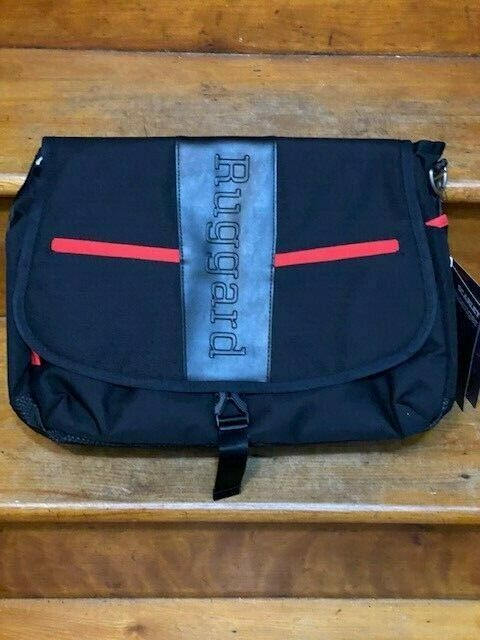 "Ruggard Red Series Scarlet Tech Messenger Bag 15.6"" Laptops Brand New With Tags"