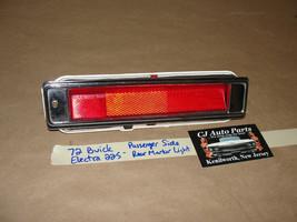 OEM 72 Buick Electra 225 RIGHT PASSENGER SIDE REAR MARKER PARK LIGHT LENS - $49.49