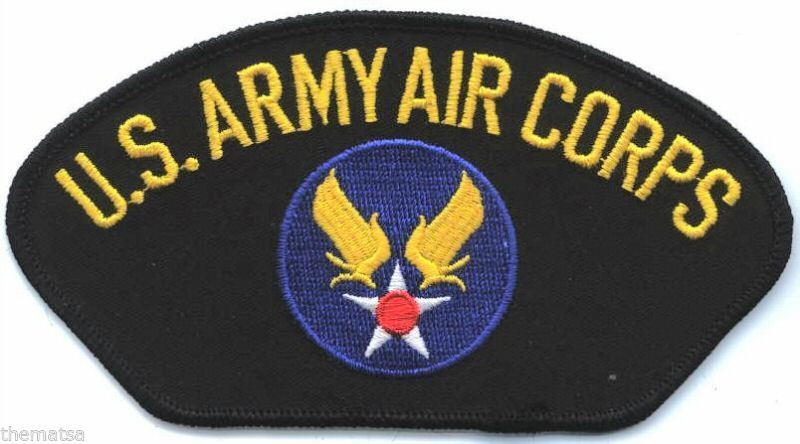 Primary image for ARMY AIR CORPS LOGO  EMBROIDERED MILITARY PATCH