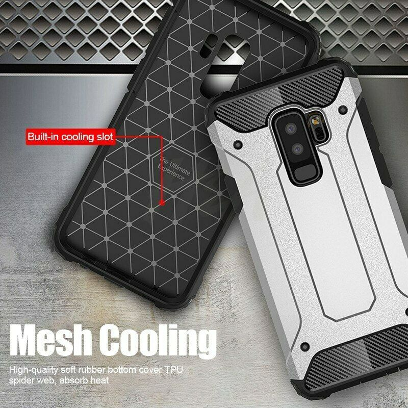 H&A Luxury Armor Shockproof Phone Case For Samsung Galaxy S10 Lite S9 S8 Plus