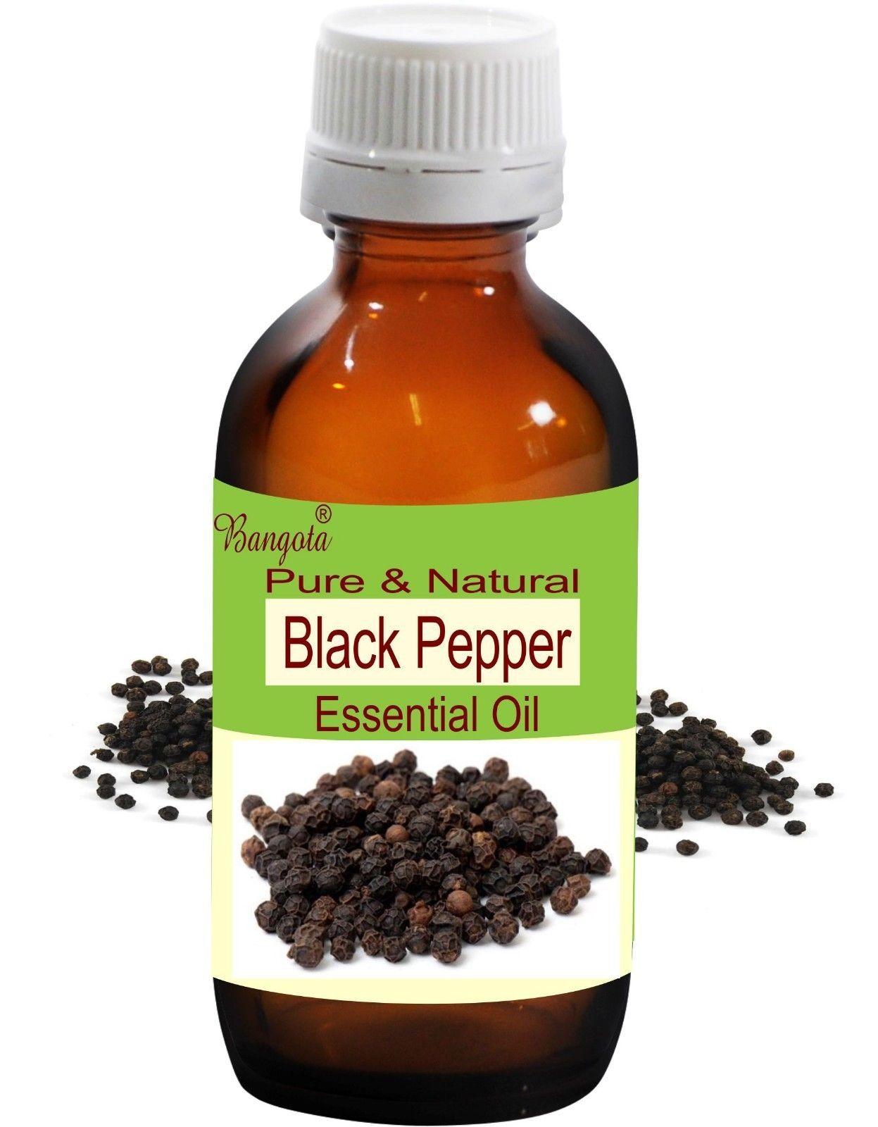 Black Pepper Oil- Pure & Natural Essential Oil-50 ml Piper nigrum by Bangota