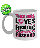 NEW Fly Trout Bass Fishing Fisherman Ceramic Coffee Mug Tea Cup Gift Kit... - $17.09+