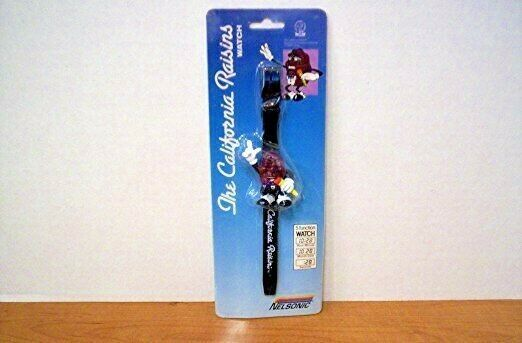 The California Raisins Collectible 1988 Nelsonic Vintage LCD Plastic Wrist Watch - $15.82