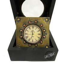 Vintage Desk Clock Retro Classic London Victoria Bedside/Office Shelf Cl... - $35.80