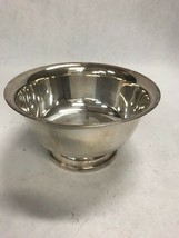 Silver plate Sheffield Pedestal Bowl  Vintage England  6 inch dish serving - $28.71