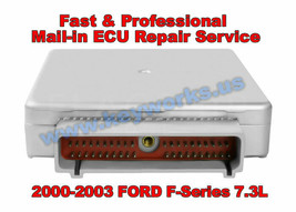 2000-2003年Ford Super Duty F系列7.3L Pcm,Ecm MAIL-IN维修&退货服务! -$ 197.01