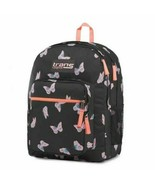 "Trans by JanSport 15"" Supermax Backpack - Butterfly Ballet Black/Pink  - $29.67"