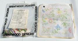 Alice Peterson for Brentwood Designs Needlepoint Wild Flowers - $15.00