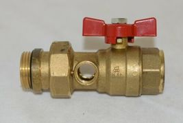 Bianchi F lli 422MC0060F MF Brass Ball Valve PN25 Pipe Union Oring Thermometer image 4