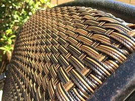 6 outdoor dining chairs Santa Clara cast aluminum powder coated patio furniture. image 4
