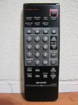 Sharp G0762CESA TV Remote 20SV640, 20VS620, 19SB620, 20SV60, 20SV620, CS21T60 - $12.99