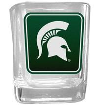 NCAA - Michigan St. Spartans Square Glass Shot Glass  - $20.99