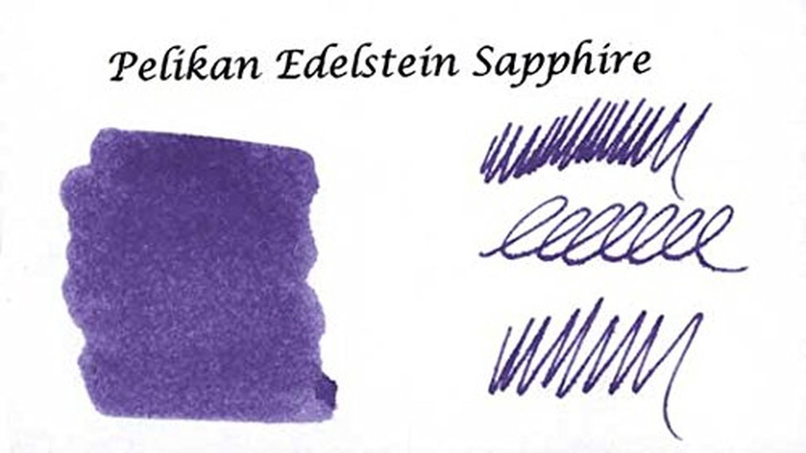 Pelikan Edelstein Bottled Ink for Fountain Pens, Sapphire, 50ml, 1  Bottle