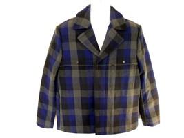 TIMBERLAND TRAVELER MOUNTAIN Men's Insulated Wool Dock Coat Jacket #8446... - $63.79