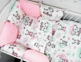 11pcs Toddler Bed Crib Bumpers 90x120 PILLOW BUMPER Sets of Bedding For Cot Bed - $198.50