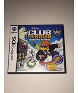 Disney Club Penguin: Elite Penguin Force: Herbert's Revenge (Nintendo DS... - $3.79