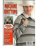 Modern Machine Knitting Feb 1994 Magazine Intarsia Thomas Tank Engine JA... - $39.99
