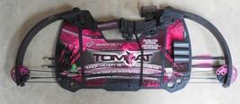 Barnett 1127 Tomcat Kids Youth Compound Bow Pink Girls Archery Set NEW - $58.95
