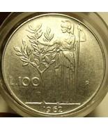 Seltenes Rolle (20 Münzen) Große Italien 100 Lire Münzen ~ Alle 597mS Un... - $30.81