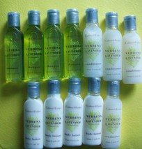 Crabtree Evelyn Travel Size Bottles Lot 12 Shampoo Conditioner Body Loti... - $14.84
