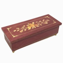 Reuge Romance Music Box Jewelry Box Made in Italy The Wind Beneath My Wi... - $49.95