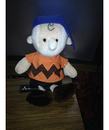 Vintage Charlie Brown Peanuts Plush Doll Determined Productions - $24.75