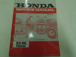 1993 1994 1995 1996 Honda TRX90 Service Shop Repair Manual Factory OEM B... - $38.01