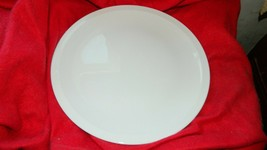 CORNING PYROCERAM WINTER FROST WHITE 12 INCH CHOP PLATE  FREE USA SHIPPING - $21.49