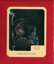 1992 Carlton Cards Heirloom Collection Ornament - North Pole Putter - 12... - $6.23