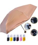 Travella Lightweight Umbrella Gold - Windproof, Waterproof and Sunproof ... - $20.02