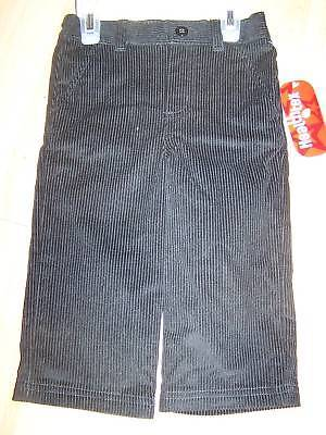 Primary image for Infant Baby Size 18 Months Healthtex Black Corduroy Dress Pants New