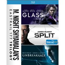 M. Night Shyamalan's Eastrail 177 Trilogy - Glass/Split/Unbreakable [Blu-ray]