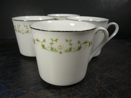 Set of 4 Sheffield Fine China Cups Made In Japan, 502 Elegance, Great Co... - $22.40