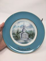 Avon 1974 Christmas Church Collector's Plate - Second Edition - Country Church image 3