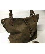 Louis Cardy Women's Large Tote/Handbag Brown with Removable Adjustable S... - $45.53