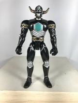 "1998 Bandai Power Rangers Lost Galaxy Magna Defender Black Action Figure 5.5"" - $9.89"