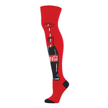 Coca Cola Just A Sip Women's Knee High Socks Red - $22.94