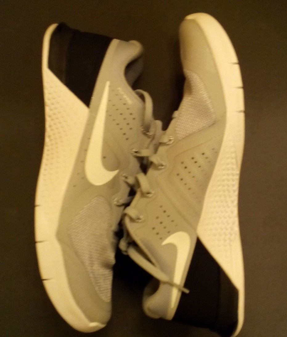 Primary image for NEW Men's Nike Metcon 2 Cool Dark Grey Black White Shoes 819899-070 SZ-10