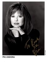 PIA ZADORA Hand SIGNED AUTOGRAPHED 8x10 Promotional PHOTO W/COA  - $34.99