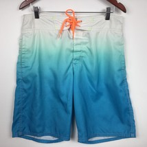 American Eagle Outfitter Men Short Board Ombre Blue Size M - $237,65 MXN