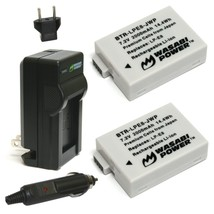 Wasabi Power Battery (2-Pack) and Charger for Canon LP-E8 and Canon EOS ... - $27.05