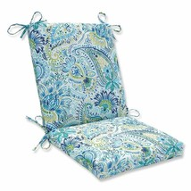 Pillow Perfect Outdoor | Indoor Gilford Baltic Squared Corners Chair Cus... - £36.15 GBP