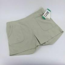 Wahine Blue Women's Shorts (Khaki, Small) - $15.99