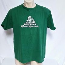 VTG 90s Janitors Against Apartheid T Shirt Rock Tee Band Punk Ska Indepe... - $58.90