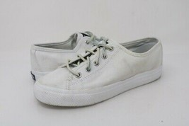 Sperry Top-Sider Womens Seacoast Sneakers White STS93173 Lace Up Shoes 5 M - $27.13 CAD
