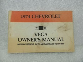 1974 VEGA  Owners Manual 16033 - $18.76
