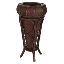 Nearly Natural 526 Decorative Stand Planter, Brown - $104.99