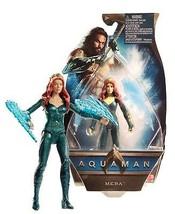 "Aquaman Mera 6"" Figure with Hard Water Blades Mint on Card - $14.88"